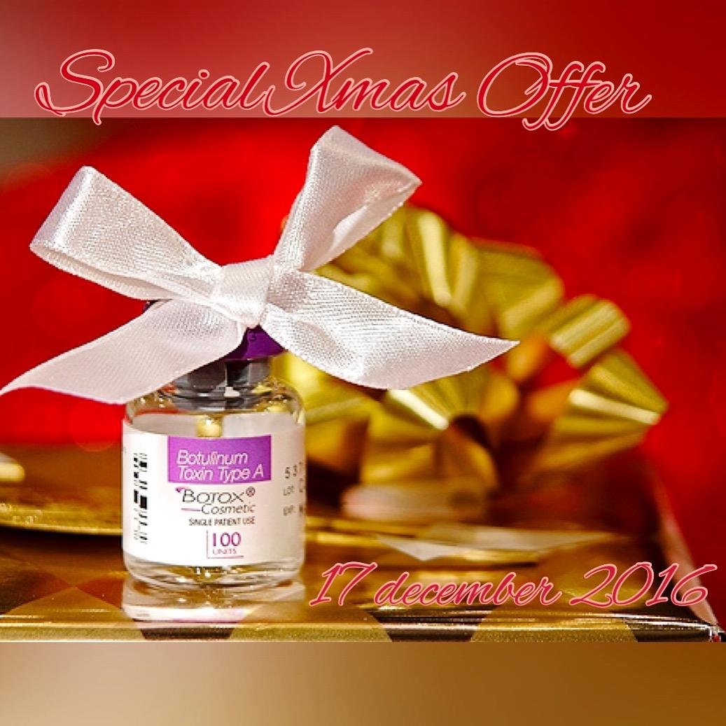 Special Xmas Offer: botox en fillers